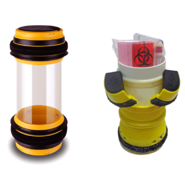 Capsules biohazard / Carriers