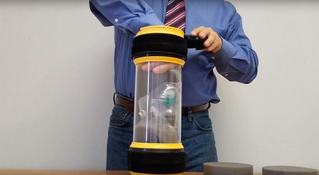 Système de transport pneumatique par tubes