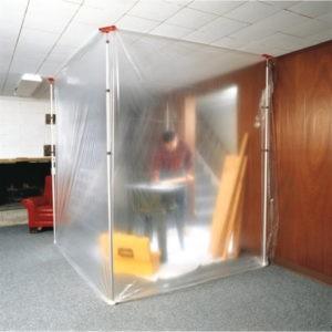 Barrière de construction temporaire ZipWall®